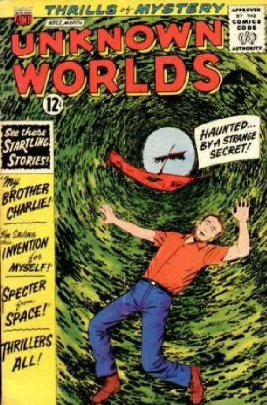 Cover of Unknown Worlds (Vol 1) #22. One of 250,000 Vintage American Comics on sale from Krypton!