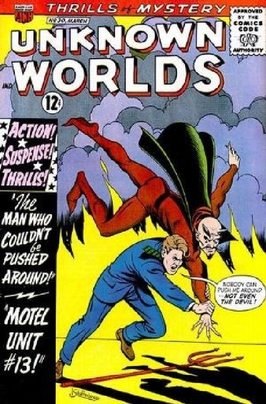 Cover of Unknown Worlds (Vol 1) #30. One of 250,000 Vintage American Comics on sale from Krypton!