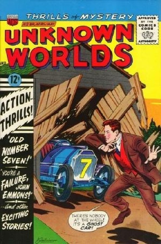 Cover of Unknown Worlds (Vol 1) #39. One of 250,000 Vintage American Comics on sale from Krypton!