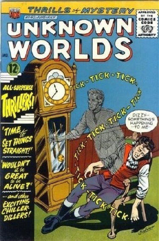 Cover of Unknown Worlds (Vol 1) #40. One of 250,000 Vintage American Comics on sale from Krypton!