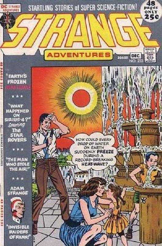 Cover of Strange Adventures (Vol 1) #233. One of 250,000 Vintage American Comics on sale from Krypton!