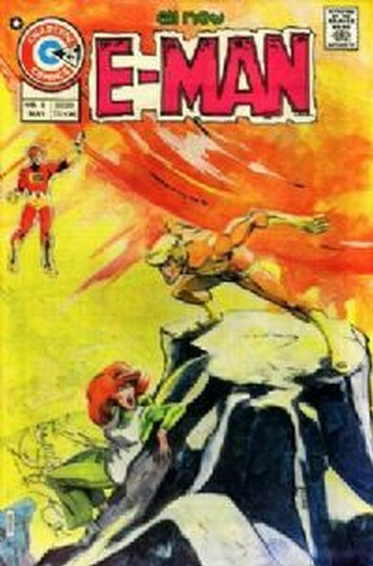 Cover of E-Man (Vol 1) #8. One of 250,000 Vintage American Comics on sale from Krypton!