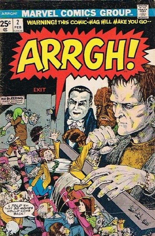 Cover of Arrgh! (Vol 1) #2. One of 250,000 Vintage American Comics on sale from Krypton!