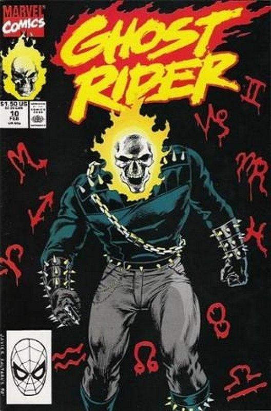 Cover of Ghost Rider (Vol 2) #10. One of 250,000 Vintage American Comics on sale from Krypton!