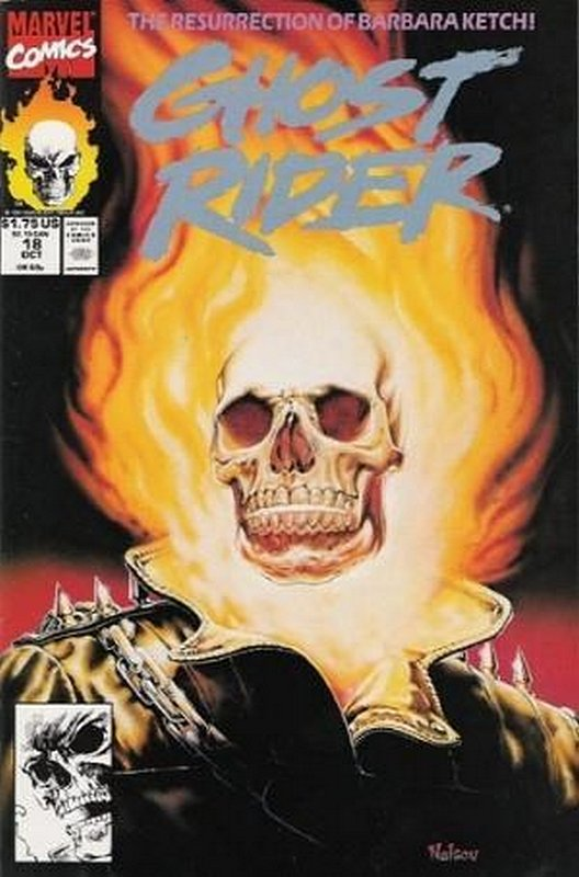 Cover of Ghost Rider (Vol 2) #18. One of 250,000 Vintage American Comics on sale from Krypton!