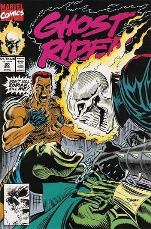 Cover of Ghost Rider (Vol 2) #20. One of 250,000 Vintage American Comics on sale from Krypton!