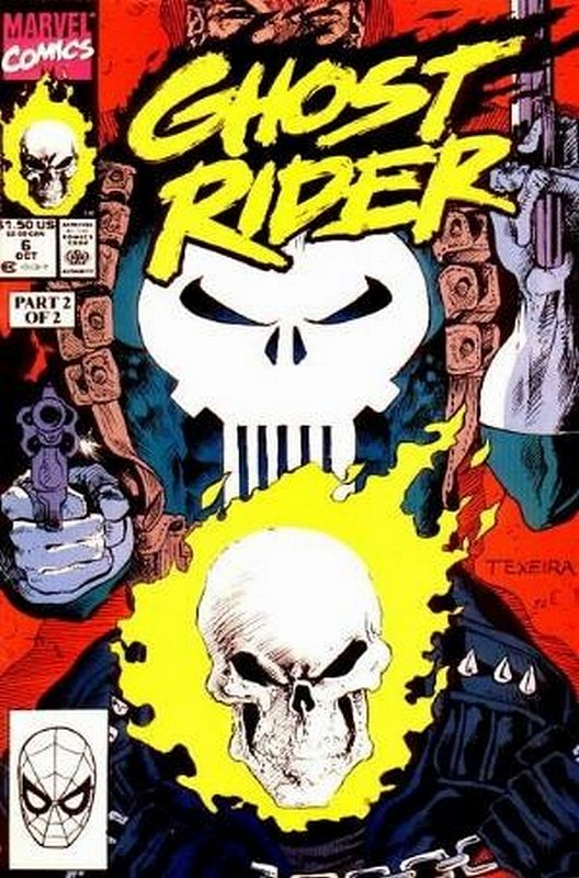 Cover of Ghost Rider (Vol 2) #6. One of 250,000 Vintage American Comics on sale from Krypton!