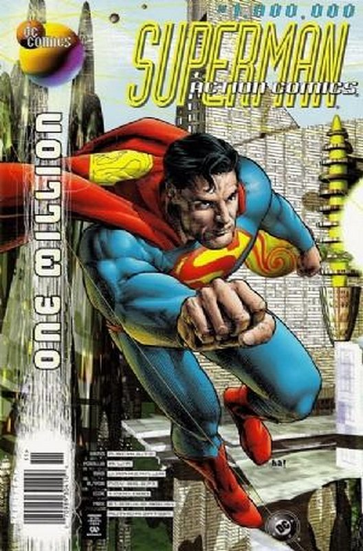 Cover of Action Comics One Million (1998 One Shot) #1. One of 250,000 Vintage American Comics on sale from Krypton!