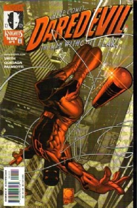 Cover of Daredevil (Vol 2) #1. One of 250,000 Vintage American Comics on sale from Krypton!