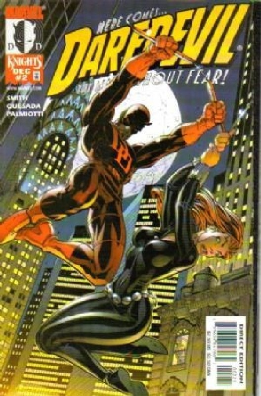 Cover of Daredevil (Vol 2) #2. One of 250,000 Vintage American Comics on sale from Krypton!