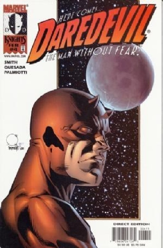Cover of Daredevil (Vol 2) #4. One of 250,000 Vintage American Comics on sale from Krypton!