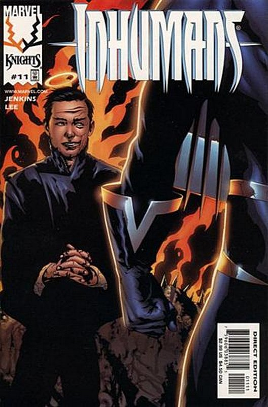 Cover of Inhumans (1998 Ltd) #11. One of 250,000 Vintage American Comics on sale from Krypton!