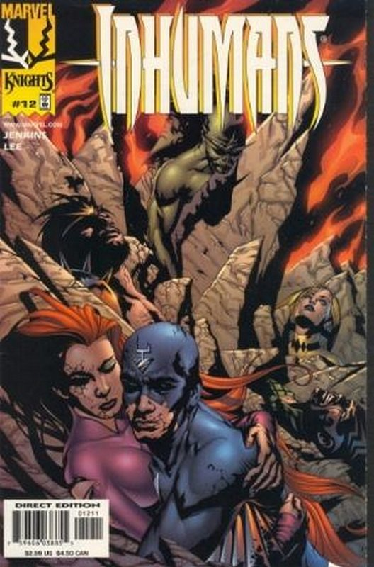 Cover of Inhumans (1998 Ltd) #12. One of 250,000 Vintage American Comics on sale from Krypton!