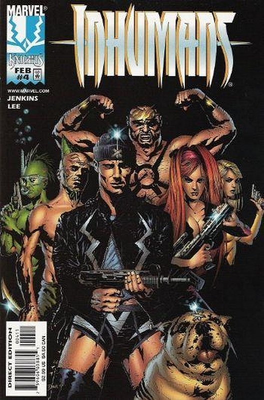 Cover of Inhumans (1998 Ltd) #4. One of 250,000 Vintage American Comics on sale from Krypton!