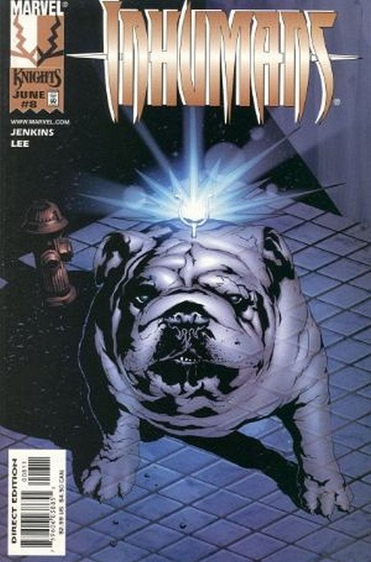 Cover of Inhumans (1998 Ltd) #8. One of 250,000 Vintage American Comics on sale from Krypton!