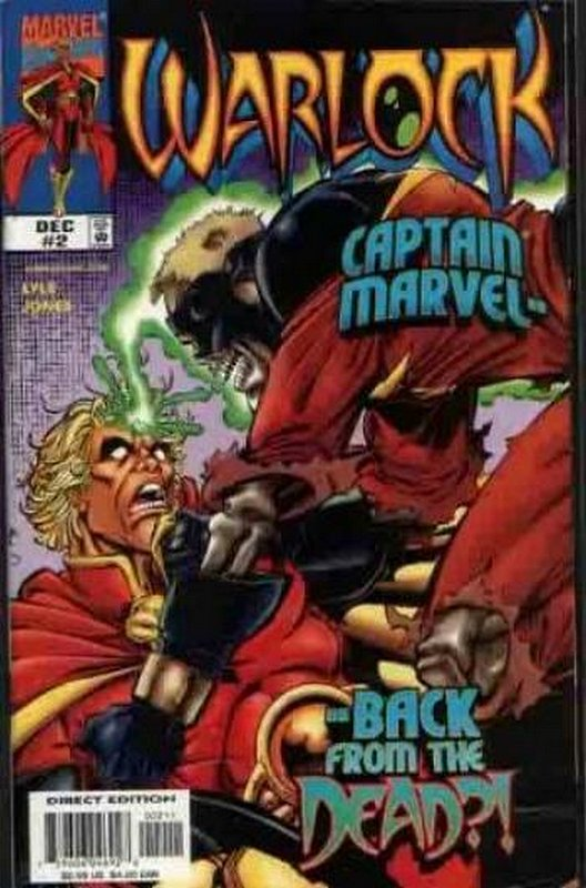 Cover of Warlock (1998 Ltd) #2. One of 250,000 Vintage American Comics on sale from Krypton!