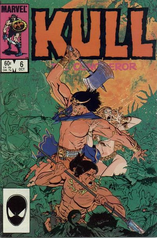 Cover of Kull the Conqueror (Vol 3) #6. One of 250,000 Vintage American Comics on sale from Krypton!