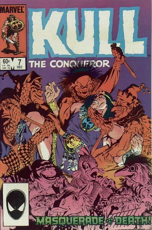 Cover of Kull the Conqueror (Vol 3) #7. One of 250,000 Vintage American Comics on sale from Krypton!