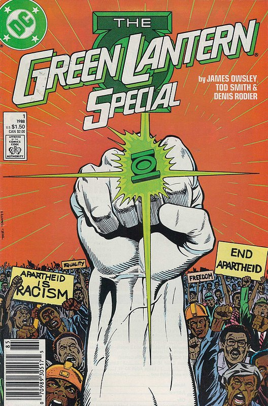 Cover of Green Lantern Special (1988-89) #1. One of 250,000 Vintage American Comics on sale from Krypton!