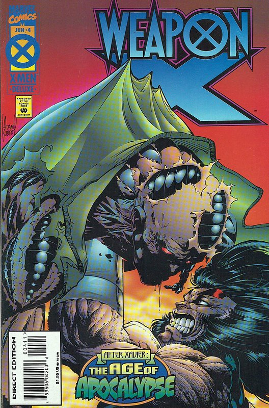 Cover of Weapon X (1995 Ltd) #4. One of 250,000 Vintage American Comics on sale from Krypton!