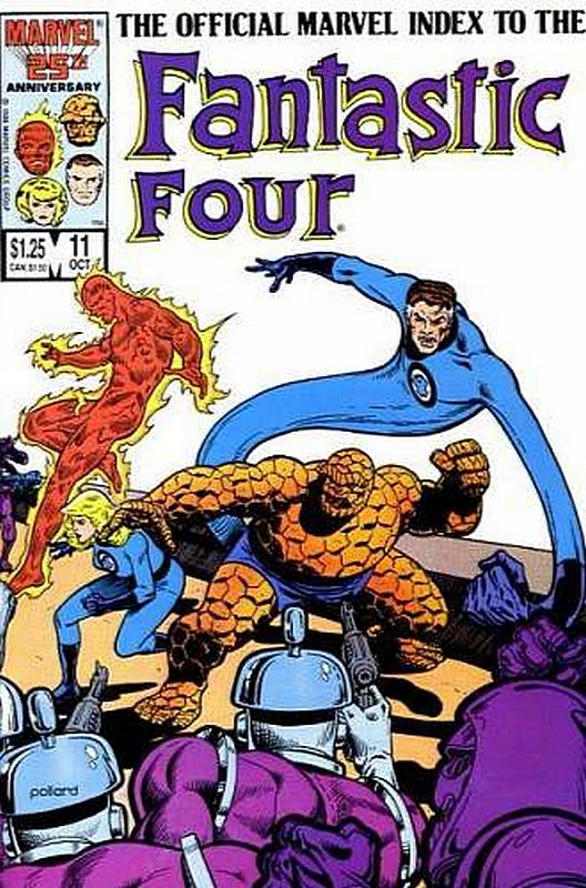 Cover of Fantastic Four (Vol 1) Official Marvel Index to #11. One of 250,000 Vintage American Comics on sale from Krypton!