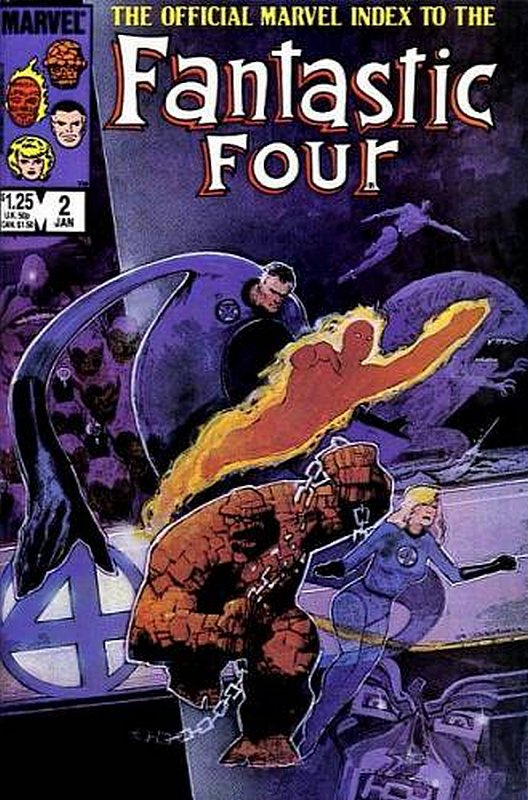 Cover of Fantastic Four (Vol 1) Official Marvel Index to #2. One of 250,000 Vintage American Comics on sale from Krypton!
