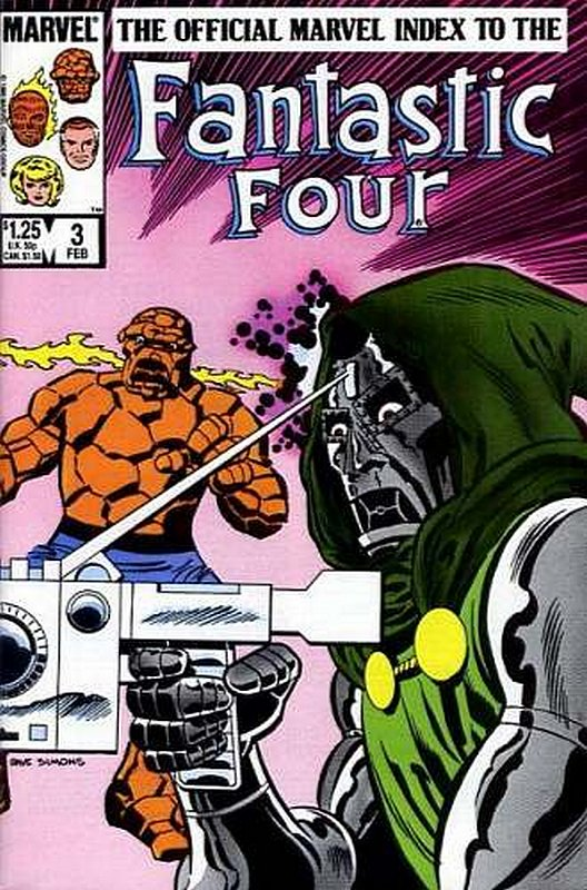 Cover of Fantastic Four (Vol 1) Official Marvel Index to #3. One of 250,000 Vintage American Comics on sale from Krypton!