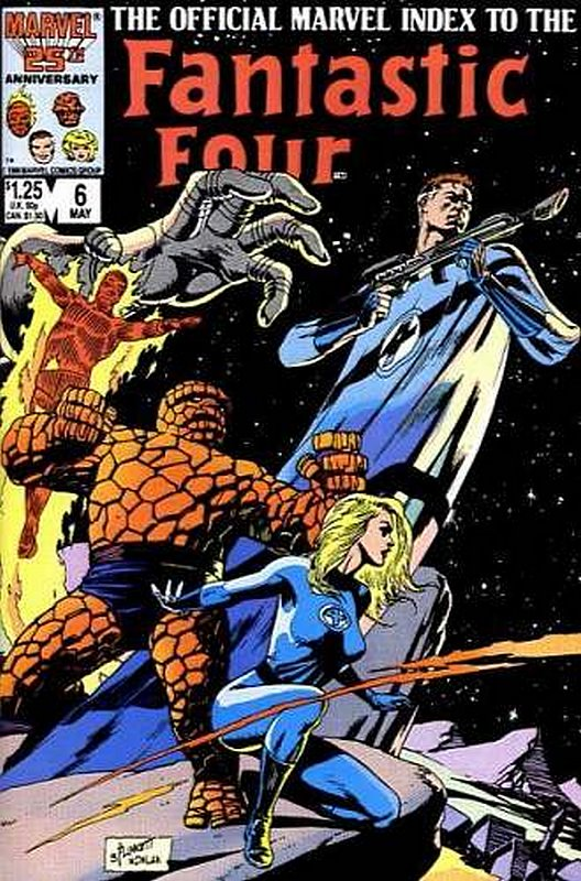Cover of Fantastic Four (Vol 1) Official Marvel Index to #6. One of 250,000 Vintage American Comics on sale from Krypton!