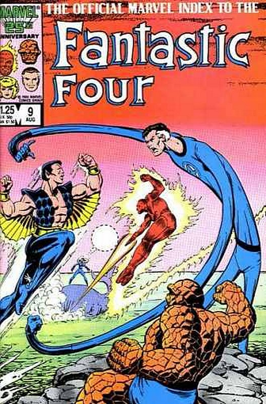 Cover of Fantastic Four (Vol 1) Official Marvel Index to #9. One of 250,000 Vintage American Comics on sale from Krypton!