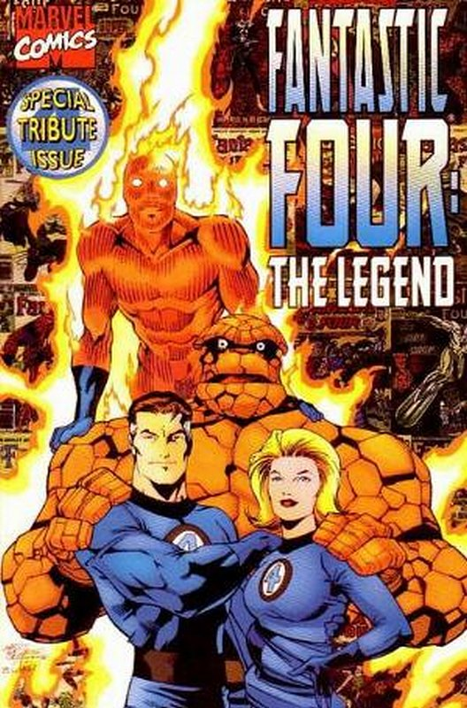 Cover of Fantastic Four: The Legend (1996 One Shot) #1. One of 250,000 Vintage American Comics on sale from Krypton!