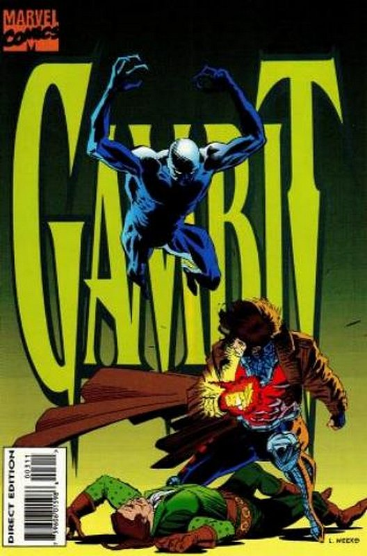 Cover of Gambit (Ltd 1994) #3. One of 250,000 Vintage American Comics on sale from Krypton!