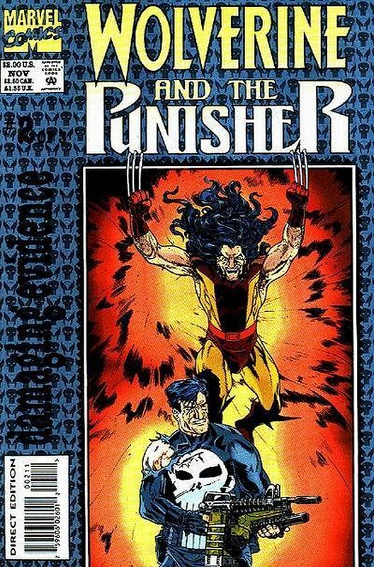 Cover of Wolverine & Punisher: Damaging Evidence (1993 Ltd) #2. One of 250,000 Vintage American Comics on sale from Krypton!
