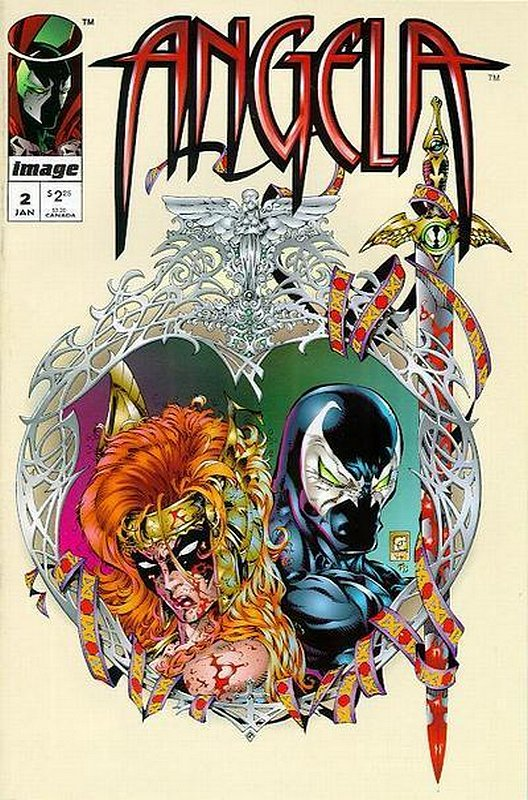 Cover of Angela (1995 Ltd) #2. One of 250,000 Vintage American Comics on sale from Krypton!
