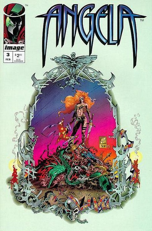 Cover of Angela (1995 Ltd) #3. One of 250,000 Vintage American Comics on sale from Krypton!