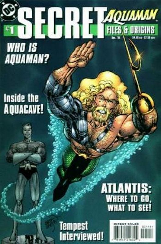 Cover of Aquaman Secret Files #1. One of 250,000 Vintage American Comics on sale from Krypton!