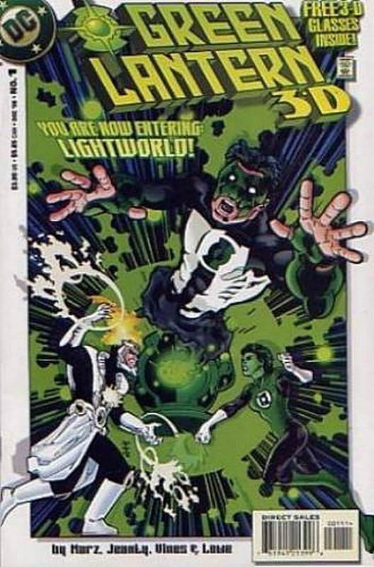 Cover of Green Lantern 3D #1. One of 250,000 Vintage American Comics on sale from Krypton!