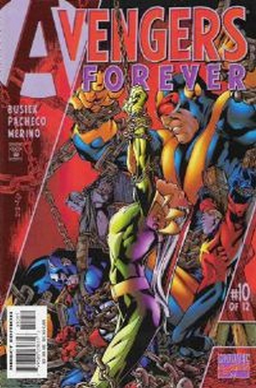 Cover of Avengers Forever (1998 Ltd) #10. One of 250,000 Vintage American Comics on sale from Krypton!