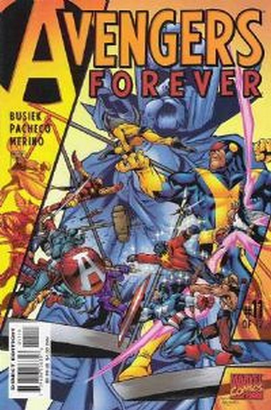 Cover of Avengers Forever (1998 Ltd) #11. One of 250,000 Vintage American Comics on sale from Krypton!
