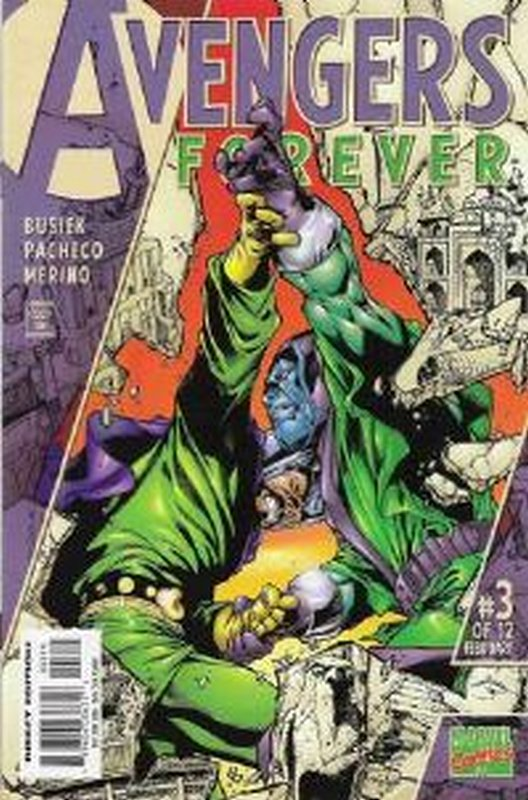 Cover of Avengers Forever (1998 Ltd) #3. One of 250,000 Vintage American Comics on sale from Krypton!