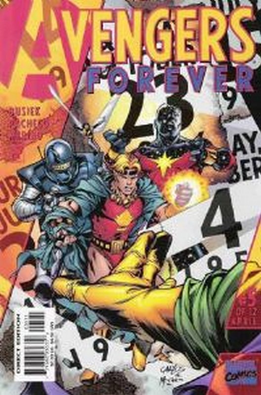 Cover of Avengers Forever (1998 Ltd) #5. One of 250,000 Vintage American Comics on sale from Krypton!