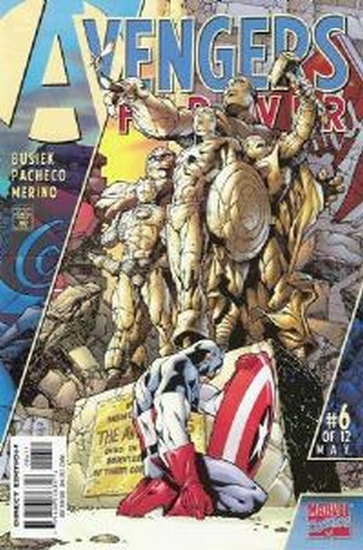 Cover of Avengers Forever (1998 Ltd) #6. One of 250,000 Vintage American Comics on sale from Krypton!