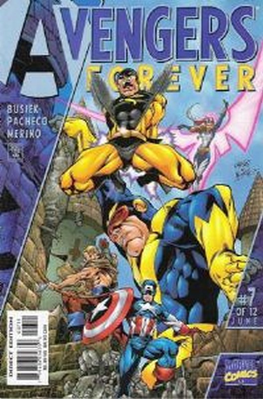 Cover of Avengers Forever (1998 Ltd) #7. One of 250,000 Vintage American Comics on sale from Krypton!