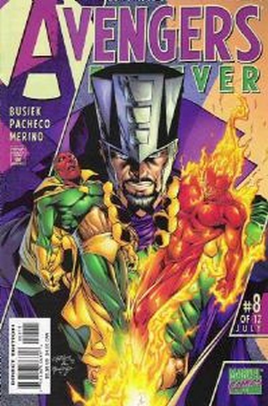 Cover of Avengers Forever (1998 Ltd) #8. One of 250,000 Vintage American Comics on sale from Krypton!