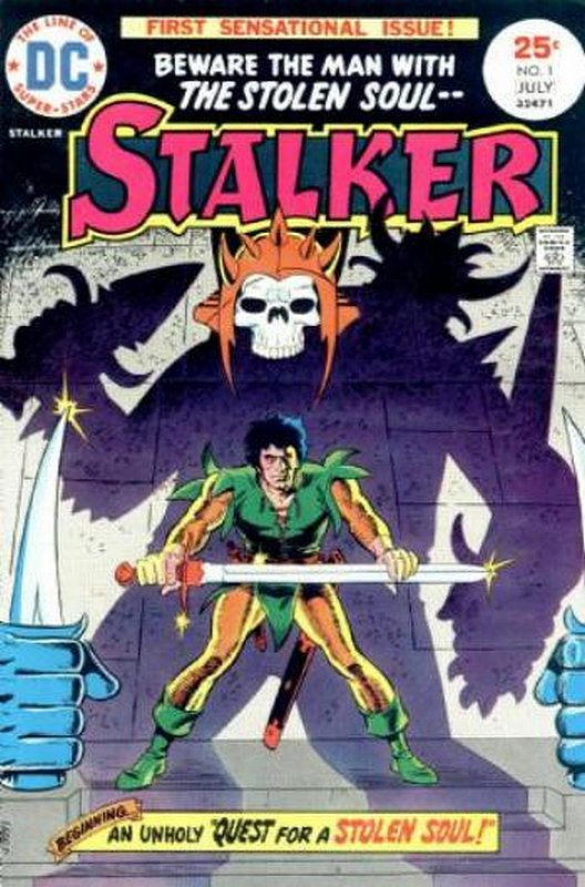 Cover of Stalker (Vol 1) #1. One of 250,000 Vintage American Comics on sale from Krypton!