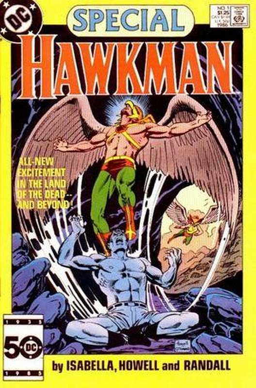Cover of Hawkman Special (1986 One Shot) #1. One of 250,000 Vintage American Comics on sale from Krypton!