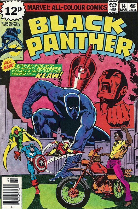 Cover of Black Panther (Vol 1) #14. One of 250,000 Vintage American Comics on sale from Krypton!