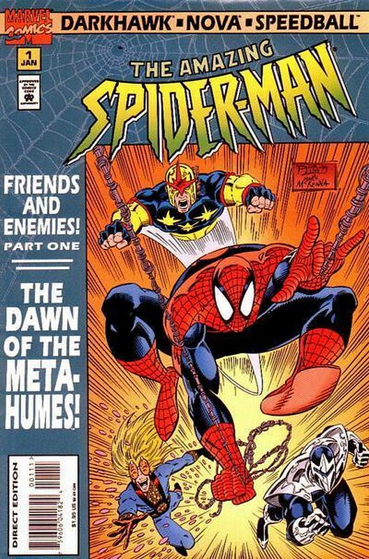 Cover of Amazing Spider-Man: Friends & Enemies (1995 Ltd) #1. One of 250,000 Vintage American Comics on sale from Krypton!