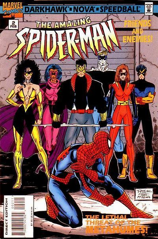 Cover of Amazing Spider-Man: Friends & Enemies (1995 Ltd) #2. One of 250,000 Vintage American Comics on sale from Krypton!