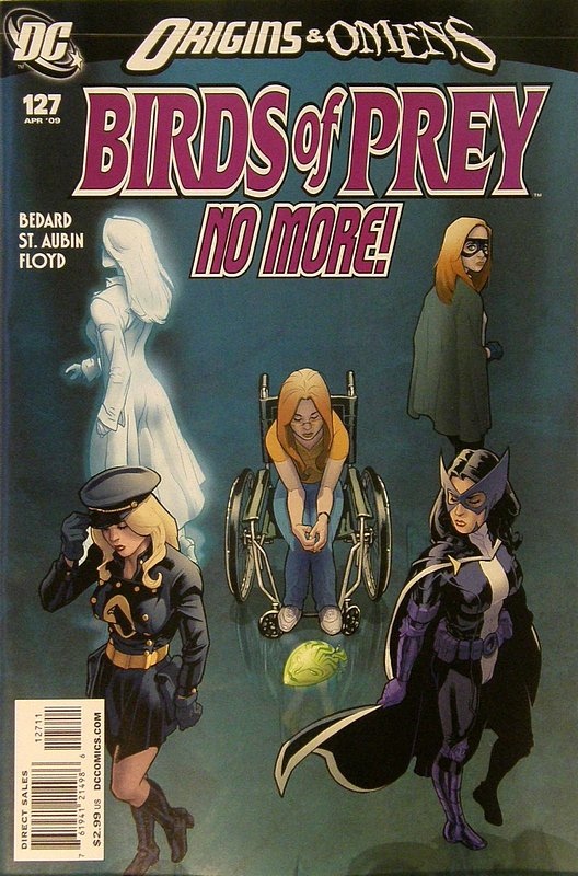 Cover of Birds of Prey (Vol 1) #127. One of 250,000 Vintage American Comics on sale from Krypton!