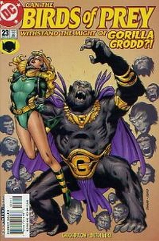 Cover of Birds of Prey (Vol 1) #23. One of 250,000 Vintage American Comics on sale from Krypton!